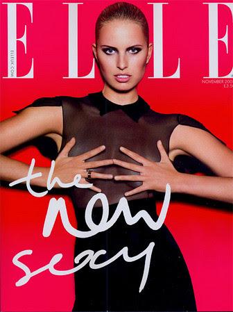 Karolina Kurkova Elle Magazine by Victoria´s Secret Show