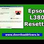 Download Epson L380 resetter tool - Epson WIC reset key