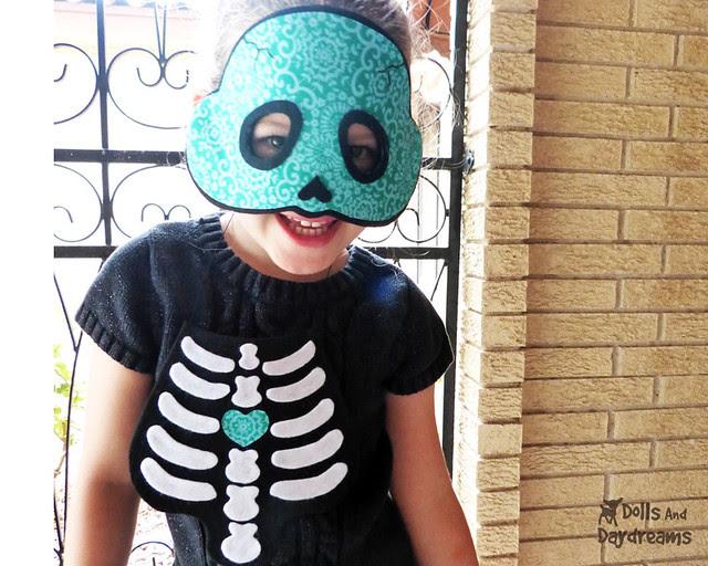 skull skeleton costume