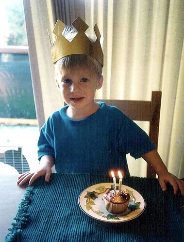 Simon is 2! Sept 7, 1994