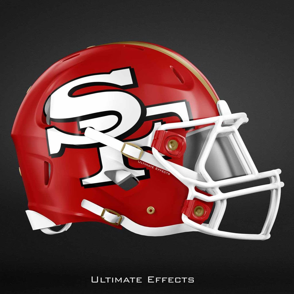 Designer Creates Awesome Concept Helmets For All 32 NFL Teams PICS