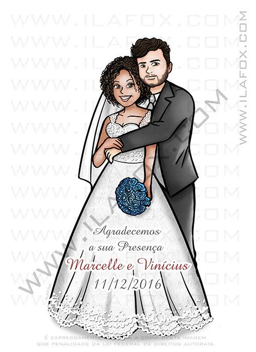 caricatura casal, caricatura noivos, caricatura personalizada, caricatura sem exageros, caricatura para casamento, by ila fox