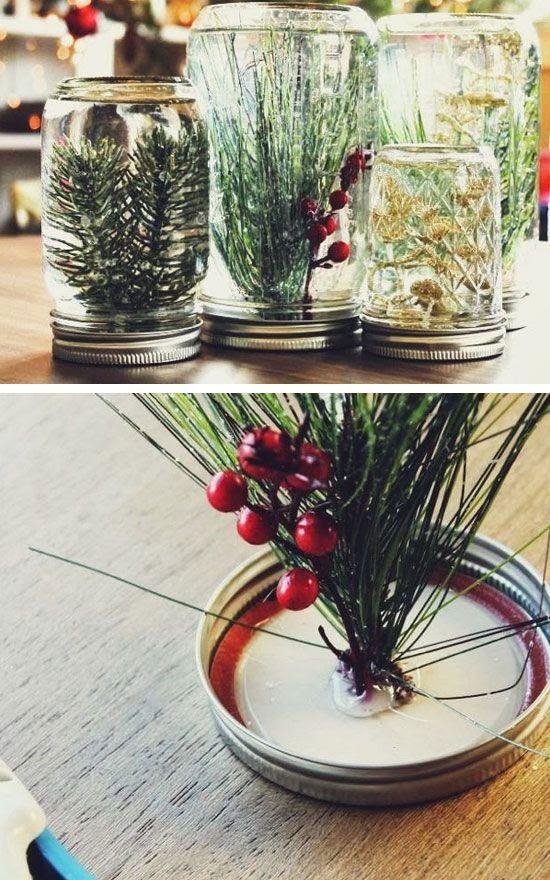DIY Underwater Festive Forest | Click for 28 Easy DIY Christmas Decor Ideas on a Budget | Handmade Christmas Decorations Ideas