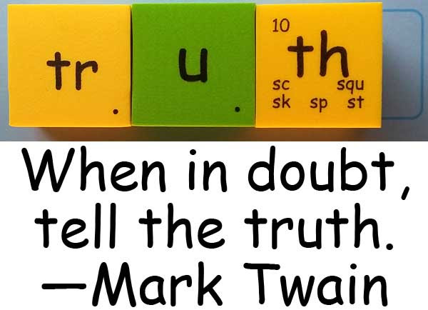 truth Mark Twain