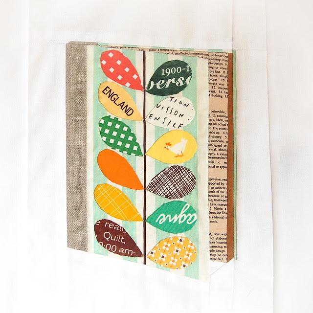 Orla Kiely inspired Notebook Block for Lynne - Ringo Pie