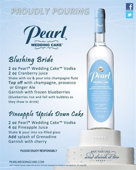 17  best images about Pearl vodka mixology on Pinterest