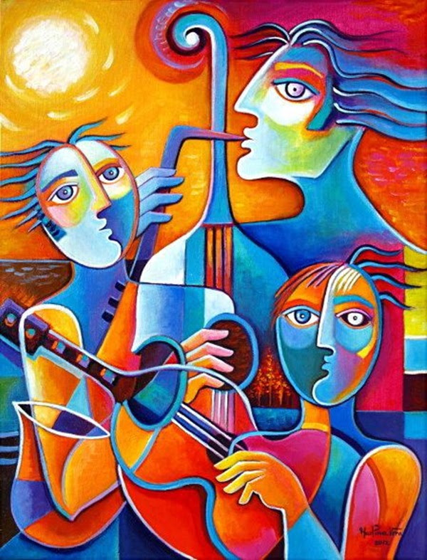 Excellent Examples Of Cubism Art Works (26)