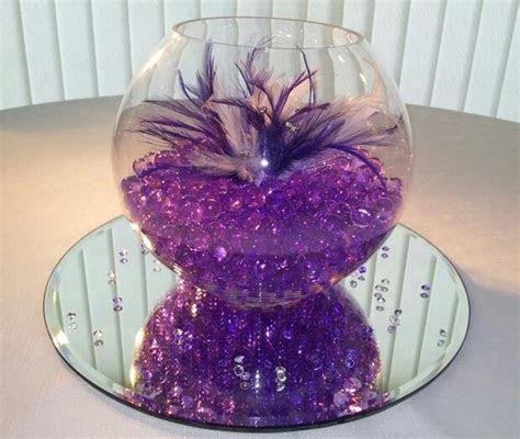 Lavender Flowers As Purple Wedding Centerpieces: purple