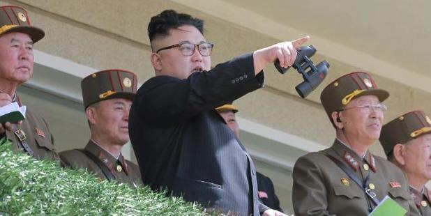 North Korean leader Kim Jong-un. Photo/AP