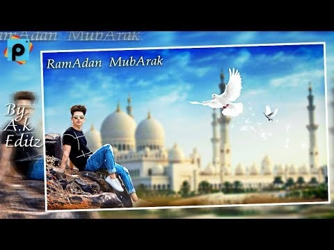 EID Special {Photo Editing} || Simple Steps Make || 16th Eid Mubarak Picture Editing Perceptions