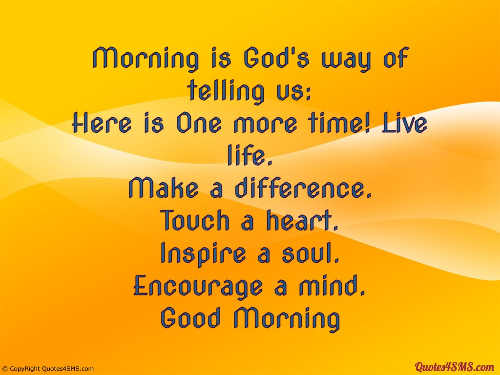 Good Morning Quotes About God. QuotesGram
