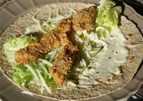 Recette wrap poulet sauce ranch ? Un site culinaire