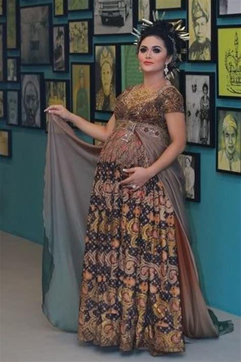 ide kebaya modern  ibu hamil ide model busana