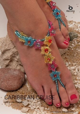 Gorgeous Beaded Sandals Tutorial for Your Cruise Vacation! - The Beading Gem's Journal