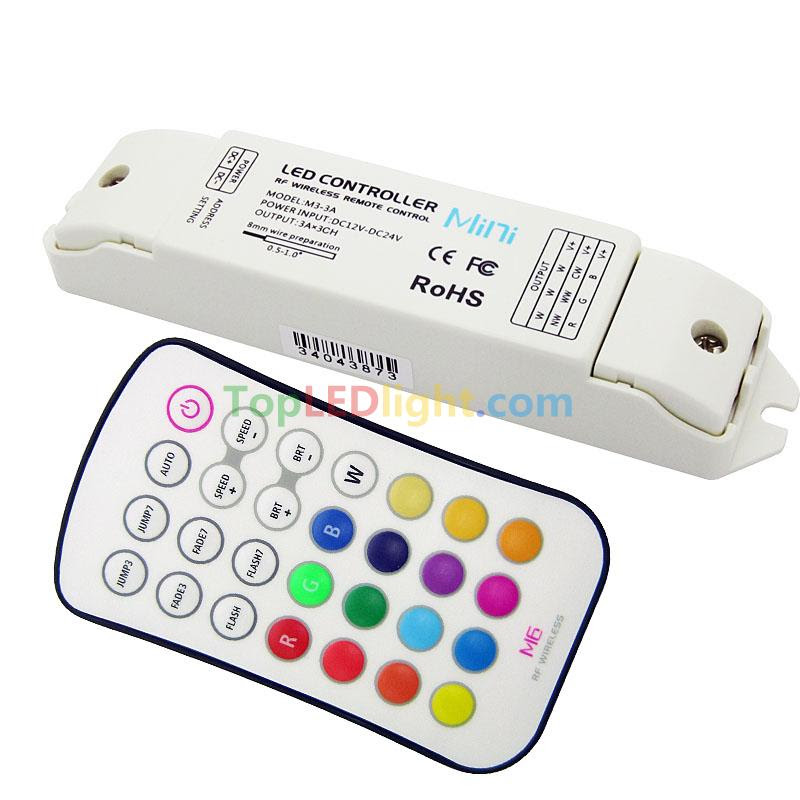 M6 Touch Screen Remote Control Wireless Rf Controller For 5050 Rgb