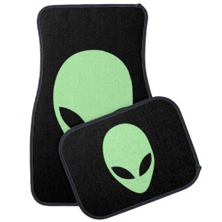 Alien Floor Mat