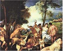 Bacanal Tiziano