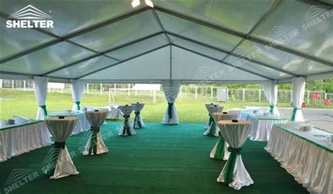 32ft x 78ft Clear Tent holding 180 200 people for Hotel