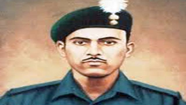 Hero of Battle of Asal Uttar Havaldar Abdul Hamid, who later won a Param Vir Chakra for his valour and courage. Image Courtesy: @SpokespersonMoD/Twitter