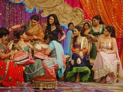 139010 mehndi ceremony on the sets of ratan ka rishta