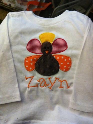 Boy Turkey Shirt