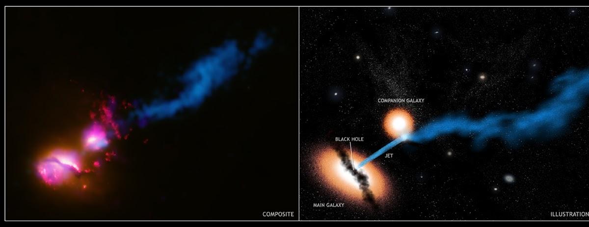 "Professor Astronomy's Astronomy Blog: The ""Death Star"" Galaxy"