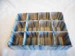 изготовление коробочки с делениями