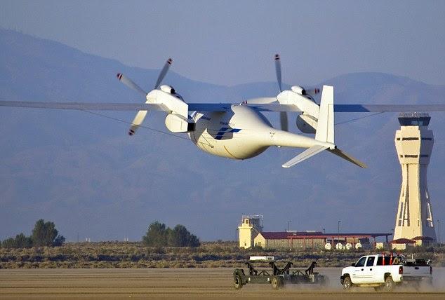 Pesawat Hidrogen Boeing yg Menakjubkan..