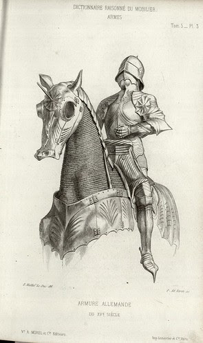 15th century horse and rider armour