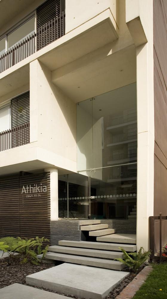 Vivienda Colectiva, Edificio Athikia, Daniel Bonilla Arquitectos, arquitectura, casas