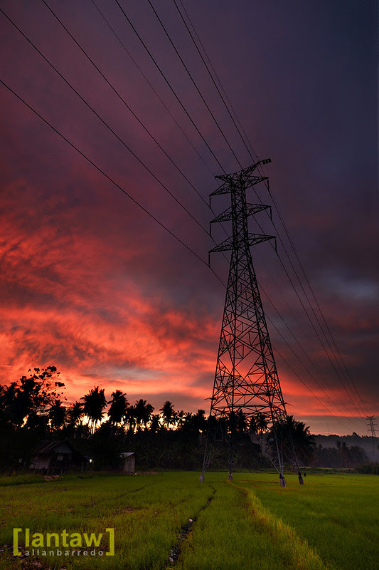 Powerline Sunset 2