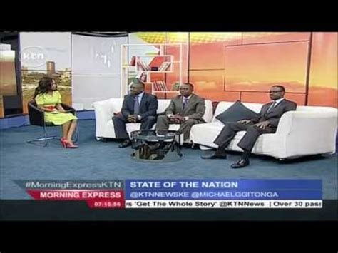 morning express discussion state   nation ktn news