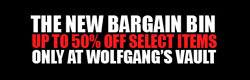 Wolfgang's Vault - Bargain Bin