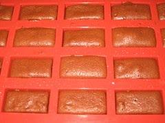 Financiers chocolat