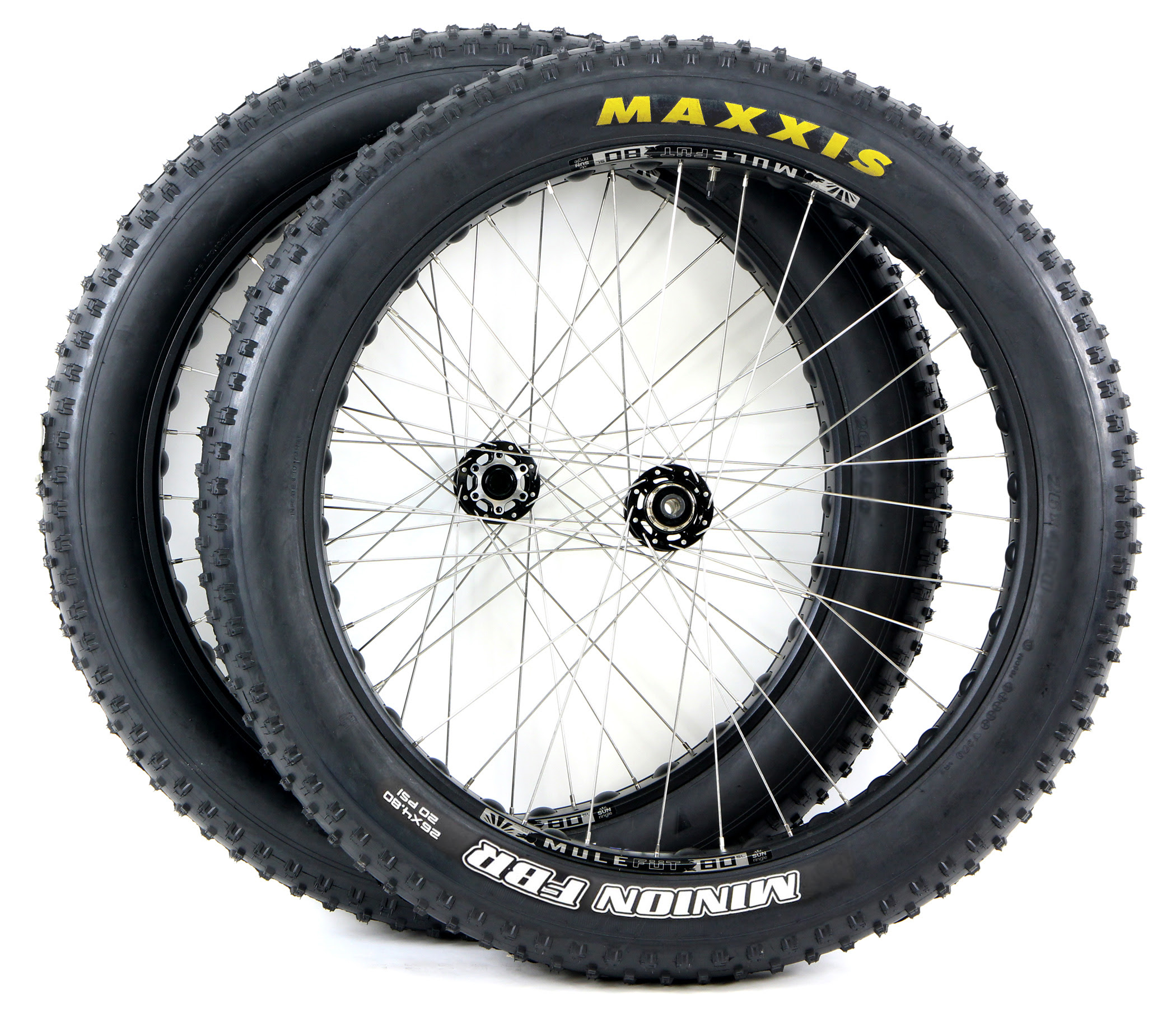 Fat Tires For Cars, Free Ship 48 States Fat Bike Wheels Promo Sale Pair Of Fatbike Sunringle Mulefut Tubeless, Fat Tires For Cars