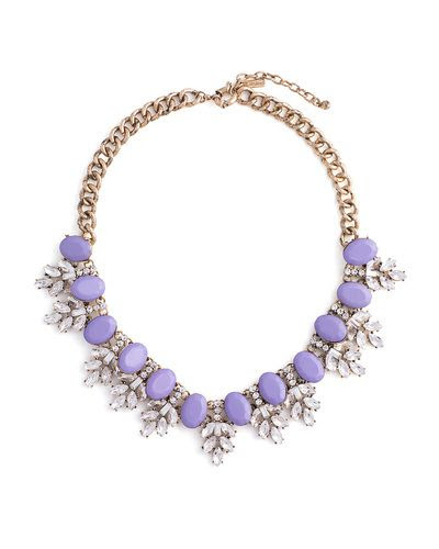 Frosted Lilac Necklace