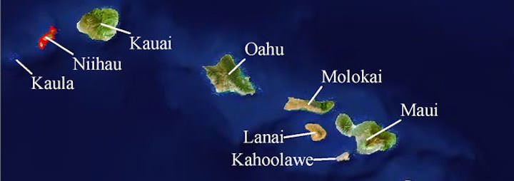 Niihau map