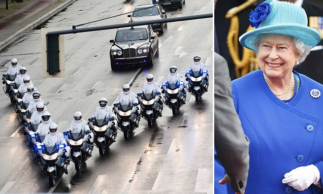 The Queen and Prince Philip arrive in Germany for her first visit to concentration camp