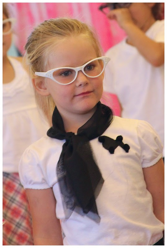 Mayflower Preschool 50s Fashion Show May 2013 5