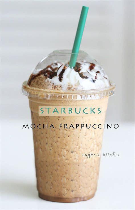 starbucks mocha frappuccino  home copycat