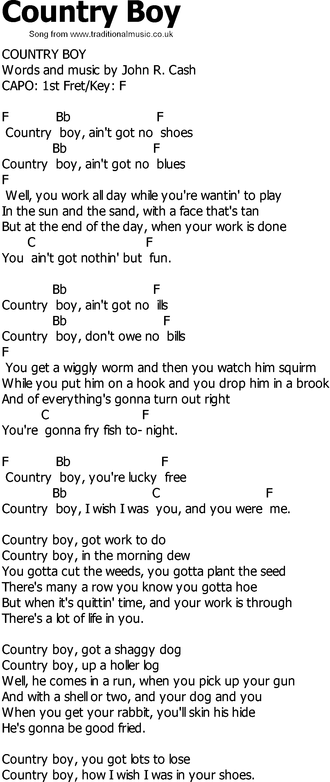 Music Instrument Country Music Guitar Chords And Lyrics