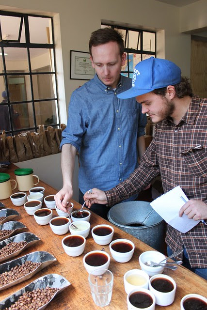 Klaus and Casper cupping
