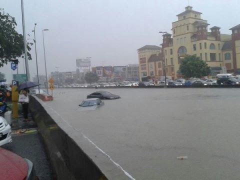 flood in puchong