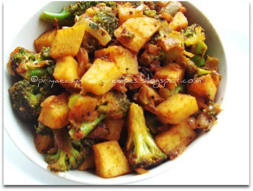 Broccoli & Potato Curry