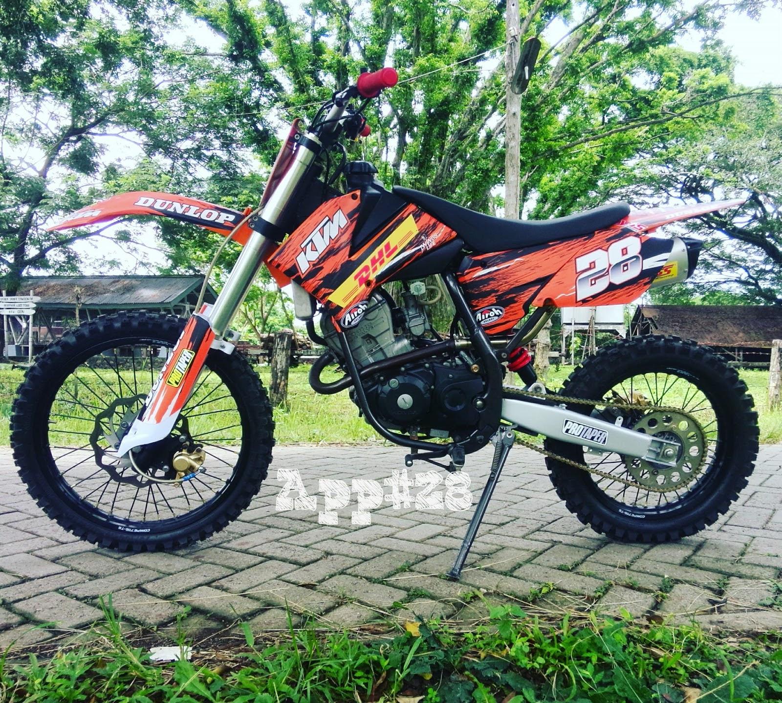 98 Modifikasi Motor Byson Jadi Trail Terbaru Kempoul Motor