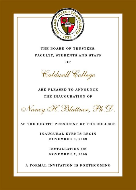 sample invitation letter  inauguration