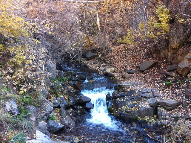 Mapleton Canyon Oct. 2011