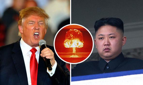Image result for trump north korea warning