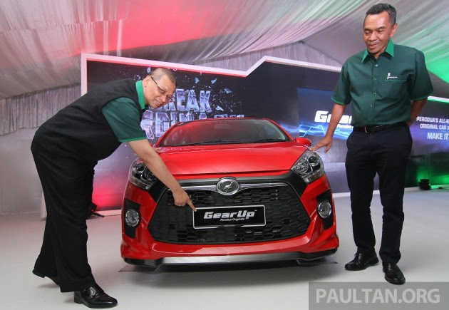 Perodua launches GearUp bodykit and accessories for Axia