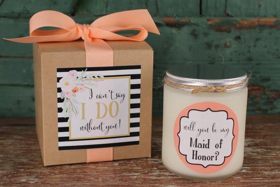 Will You Be My Bridesmaid Gift Will You Be My Maid Of Honor Gift